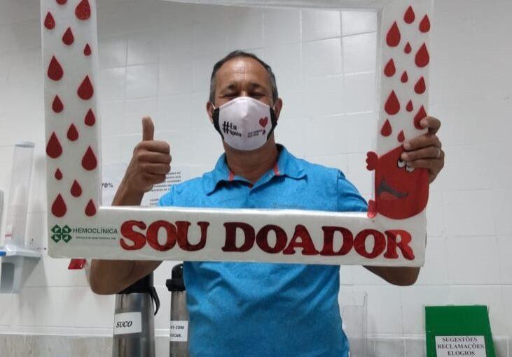 eduardo junho vermelho doação de sangue
